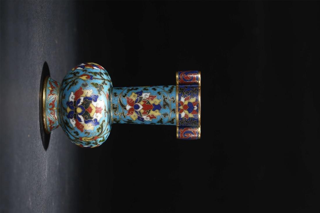A Chinese Cloisonné Vase - 2