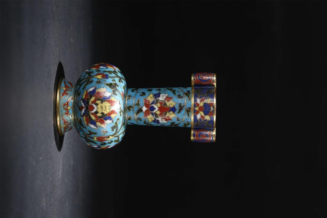 A Chinese Cloisonné Vase - 3