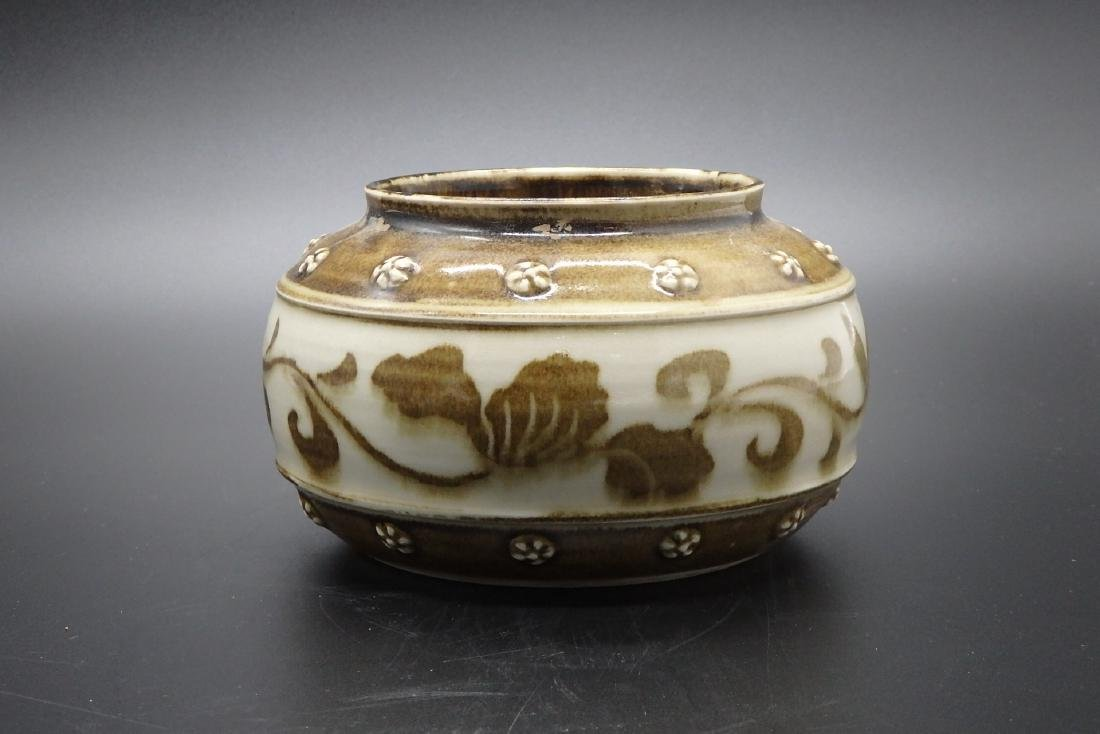 A Chinese Famille Rose Porcelain Water Pot