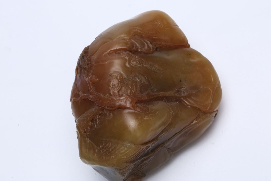 A Chinese Carved Shoushan Stone Seal - 6