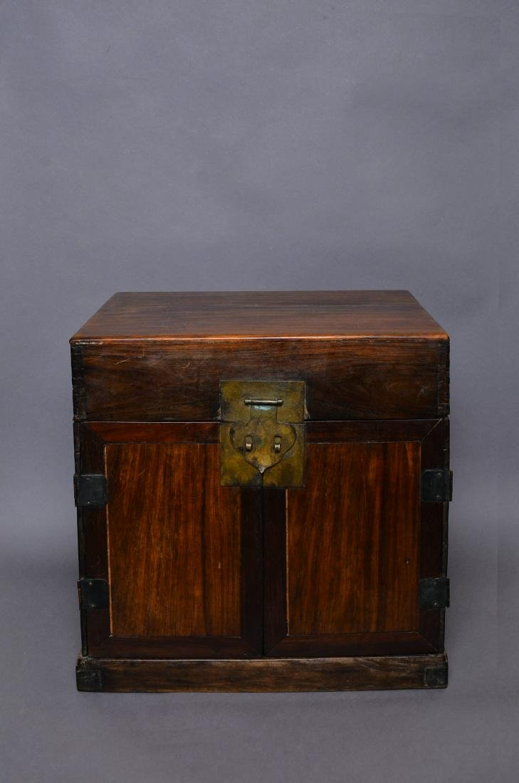 A Chinese Hardwood Chest