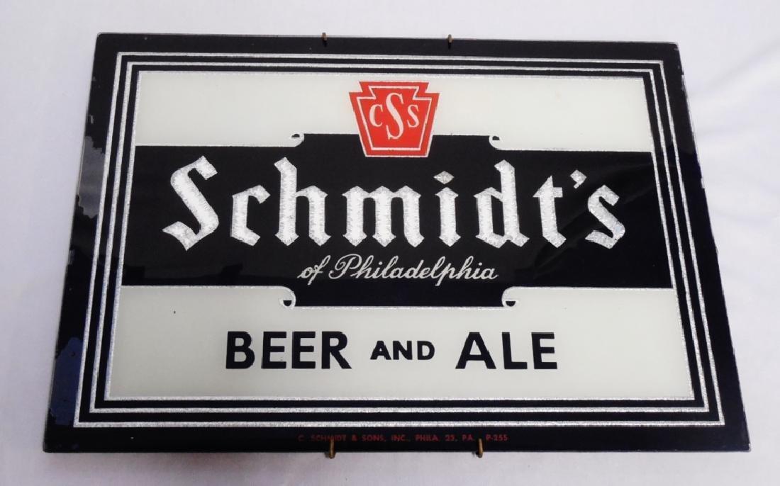 """""""CSS Schmidt's of Philadelphia Beer and Ale"""" Sign"""