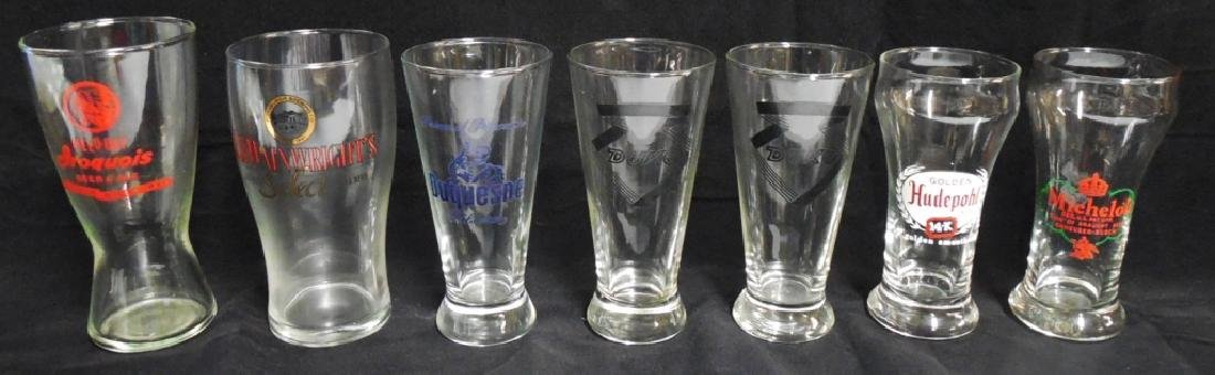 Lot of 7 assorted Beer Glasses