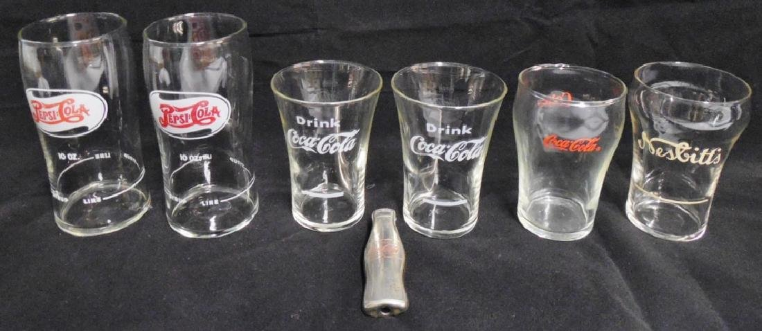 Lot of 6 Mixing Glasses