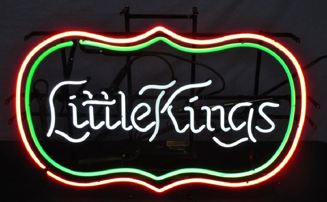 Electric Neon Sign Little Kings