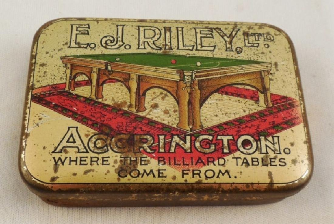 """E. J. Riley Ltd."" TIn Box"