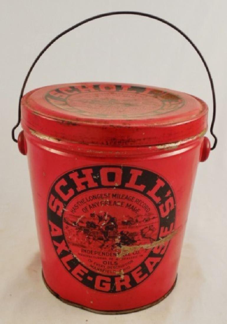 Tin Bucket with Handle