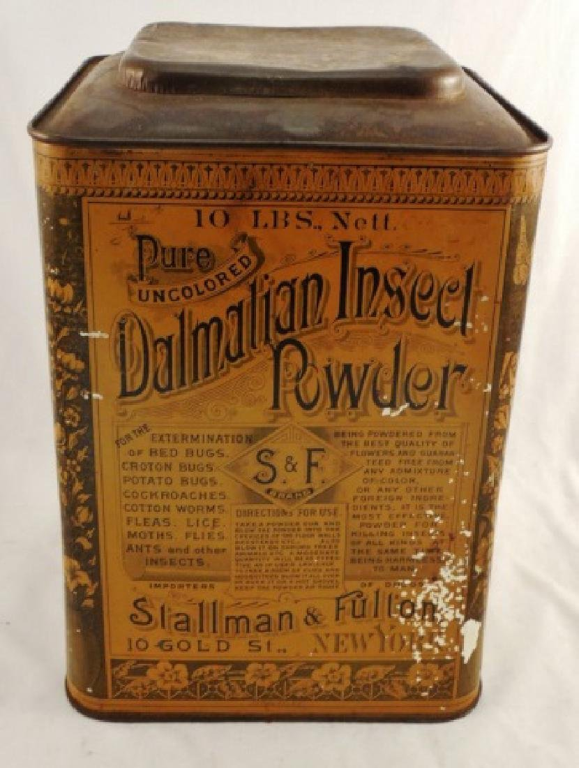 """Dalmation Insect Powder"" Tin"