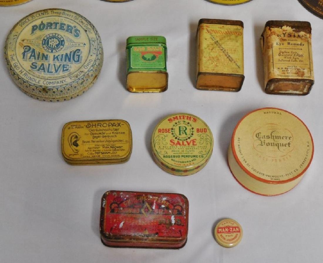 Lot of 17 Assorted Tins - 2