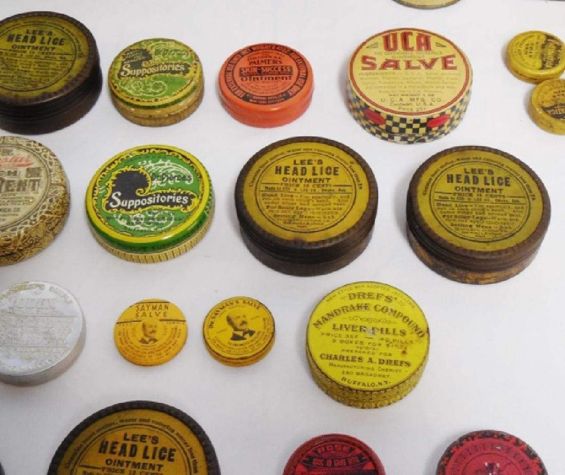 Lot of 31 Assorted Medicinal Tins - 5