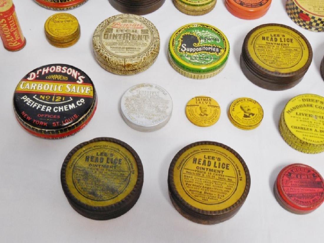 Lot of 31 Assorted Medicinal Tins - 6