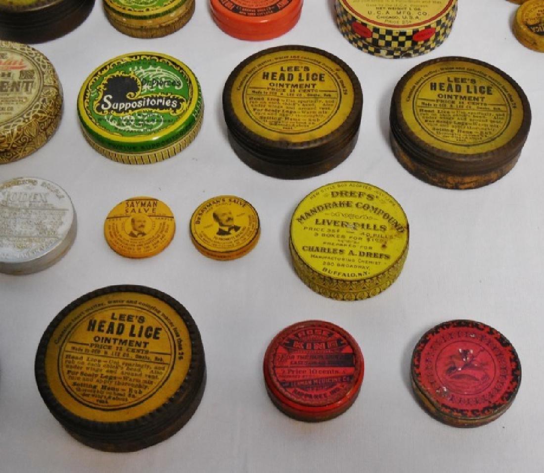 Lot of 31 Assorted Medicinal Tins - 7