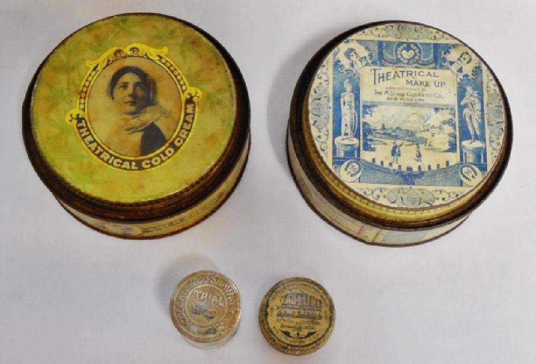 Lot of 7 Assorted Tins and 1 Bottle - 2