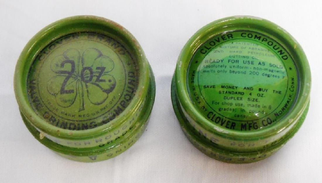 Lot of 12 Tin Cans with Wooden Box - 2