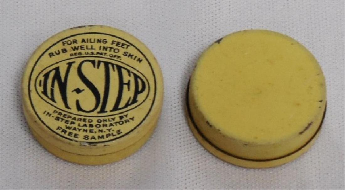 """Lot of 45 """"In-Step For Ailing Feet"""" Tins - 2"""
