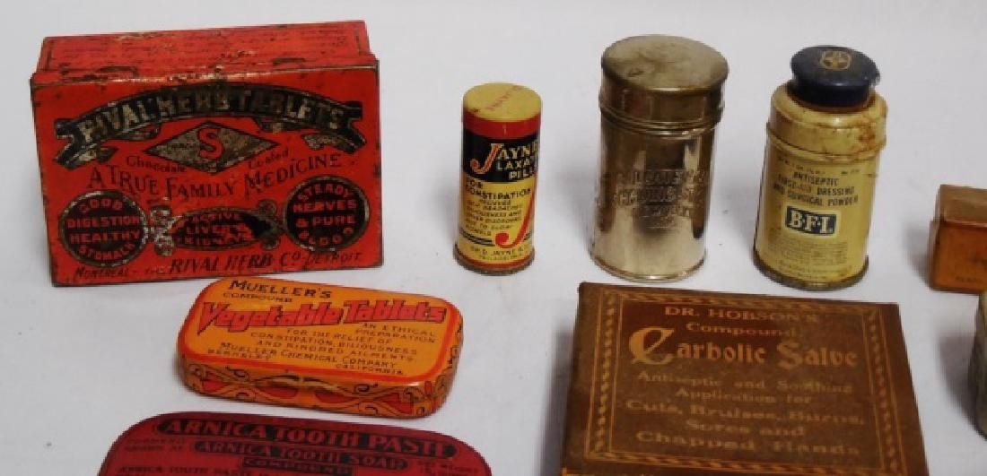 Lot of 20 Assorted Tins and Boxes - 2