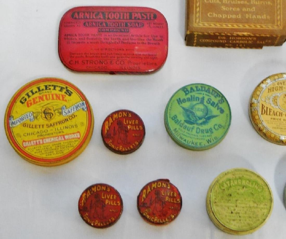 Lot of 20 Assorted Tins and Boxes - 3