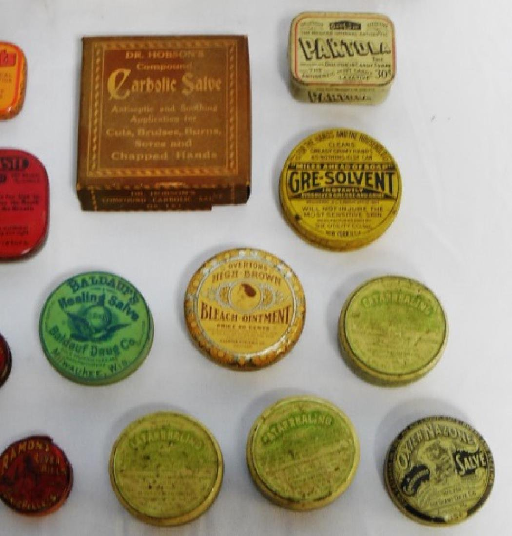 Lot of 20 Assorted Tins and Boxes - 4