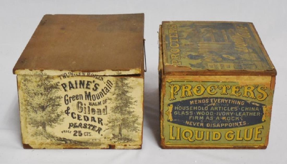 Lot of 2 Wooden Boxes