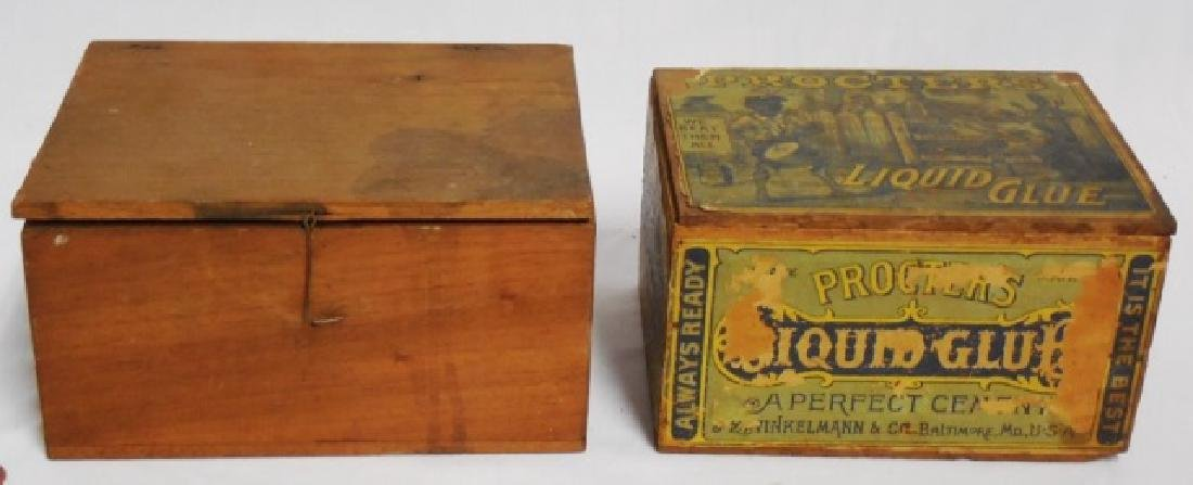 Lot of 2 Wooden Boxes - 2