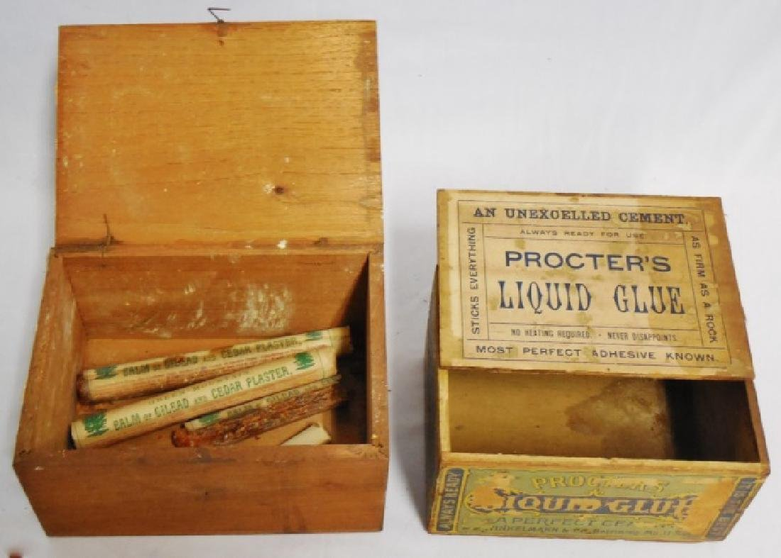 Lot of 2 Wooden Boxes - 4
