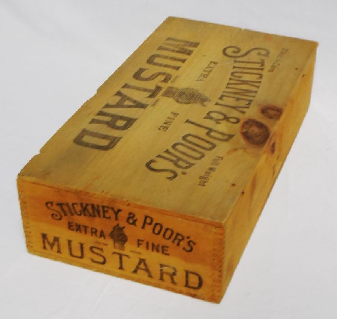 """Extra Fine Mustard"" Wooden Box - 3"