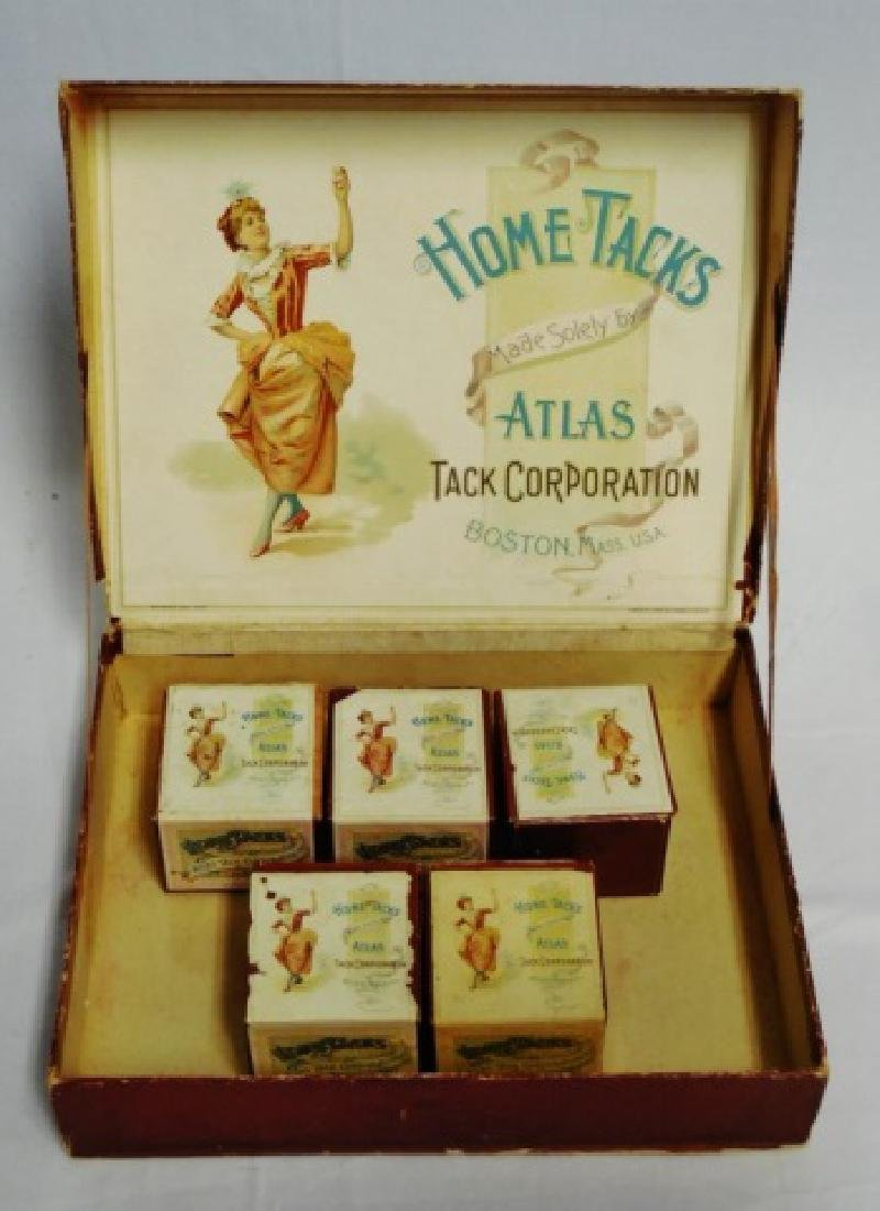 """Home Tacks Atlas Tack Corporation"" Sales Box - 2"
