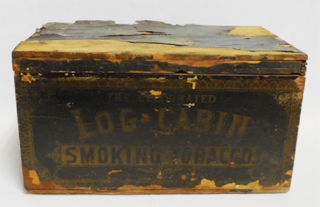 Smoking Tobacco Wooden Box