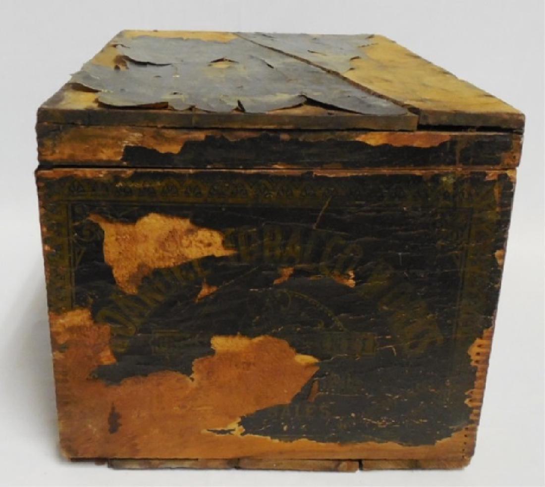 Smoking Tobacco Wooden Box - 3