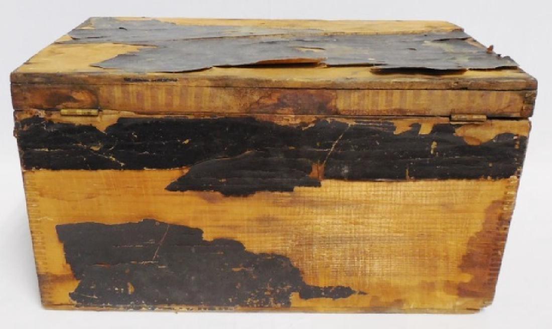 Smoking Tobacco Wooden Box - 4