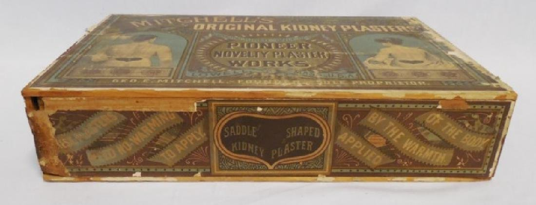 """Kidney Plasters"" Wooden Box with Drawer - 2"