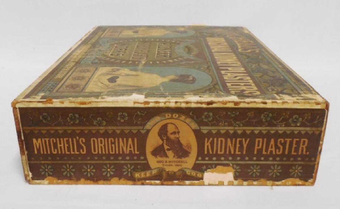 """Kidney Plasters"" Wooden Box with Drawer - 3"