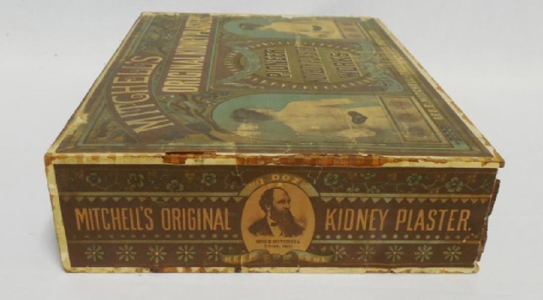 """Kidney Plasters"" Wooden Box with Drawer - 5"