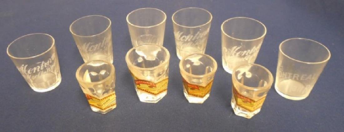 Lot of 10 Shot Glasses