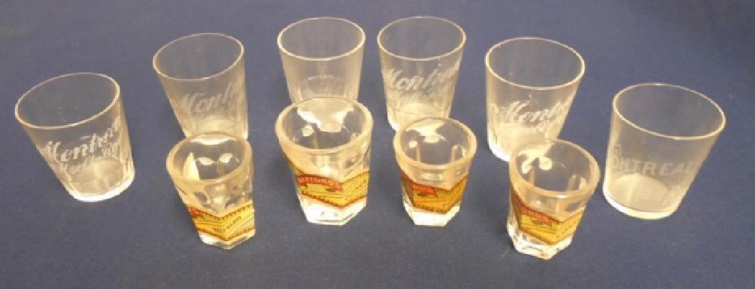 Lot of 10 Shot Glasses