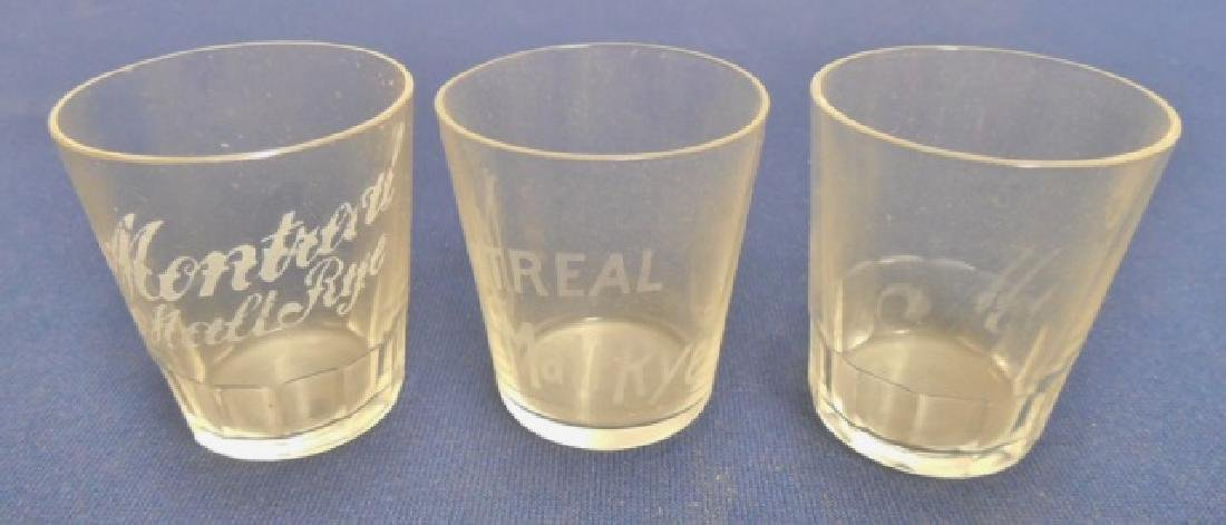 Lot of 10 Shot Glasses - 4