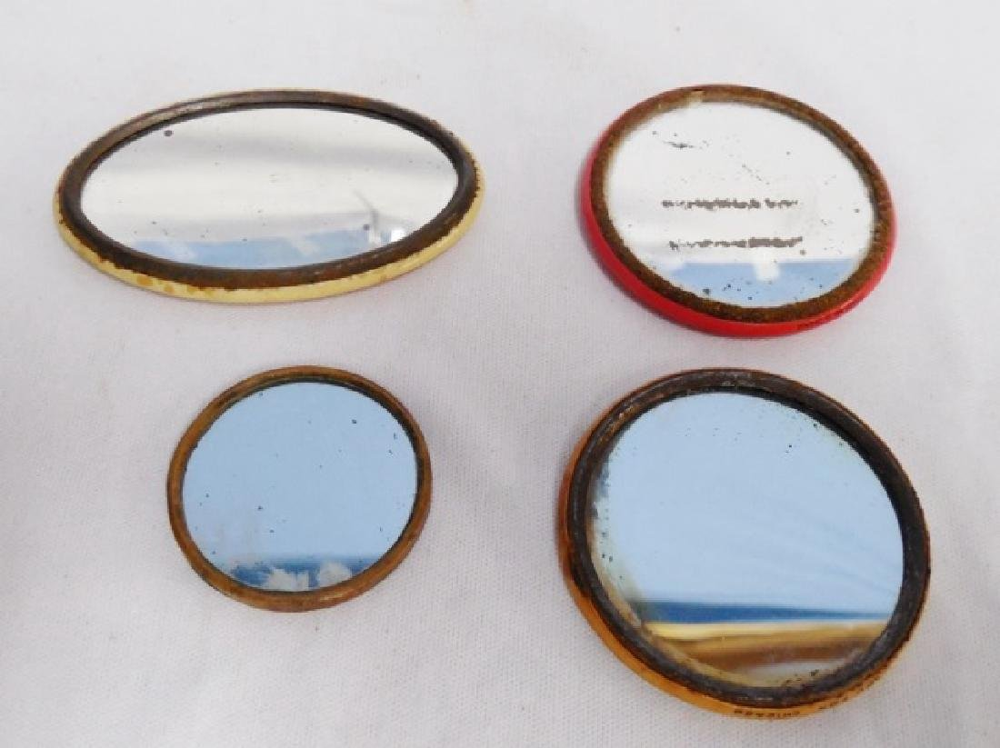 Lot of 4 Advertising Pocket Mirrors - 2