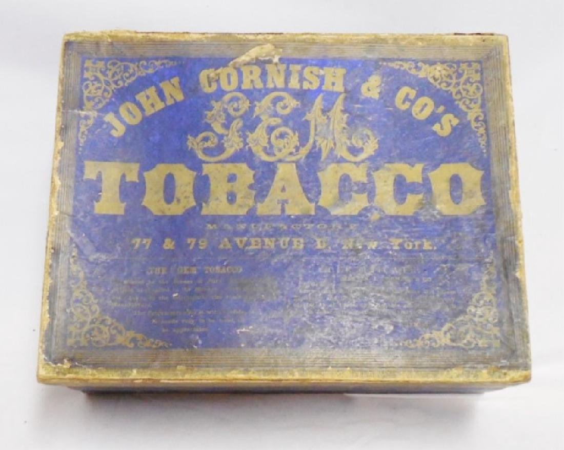 Tobacco Box with Lid