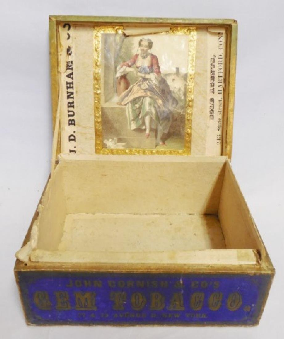 Tobacco Box with Lid - 2