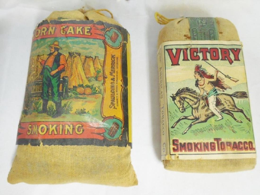 Lot of 5 Assorted Tobacco Bags - 5