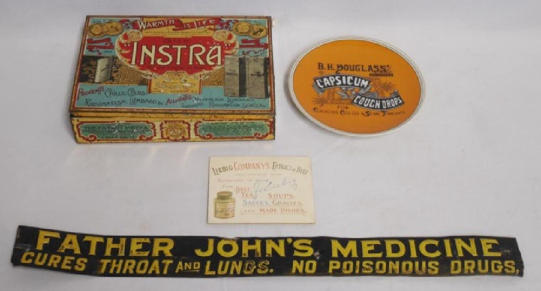 Lot of 4 Advertising Items