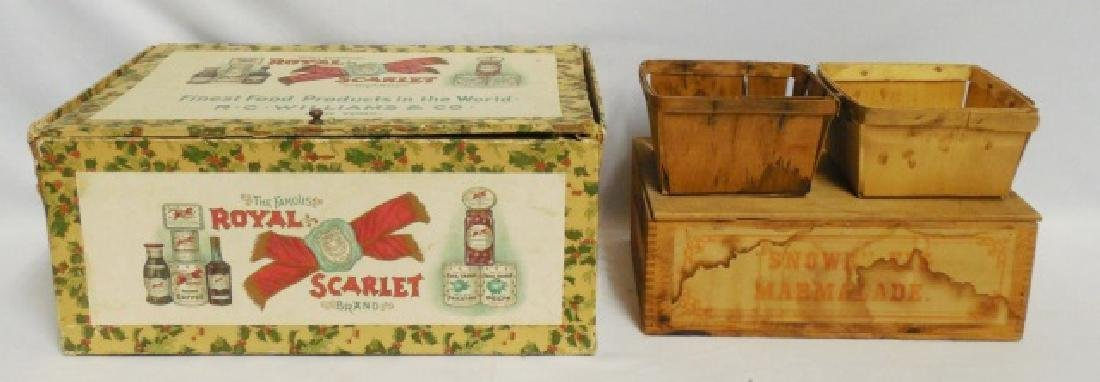Lot of 2 Food Boxes