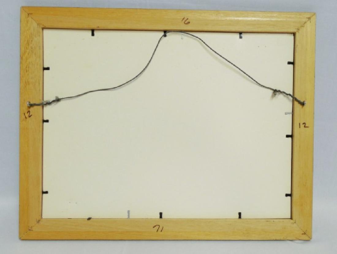 """Framed Ad. """"Fanchon The Floor Of Quality"""" - 2"""