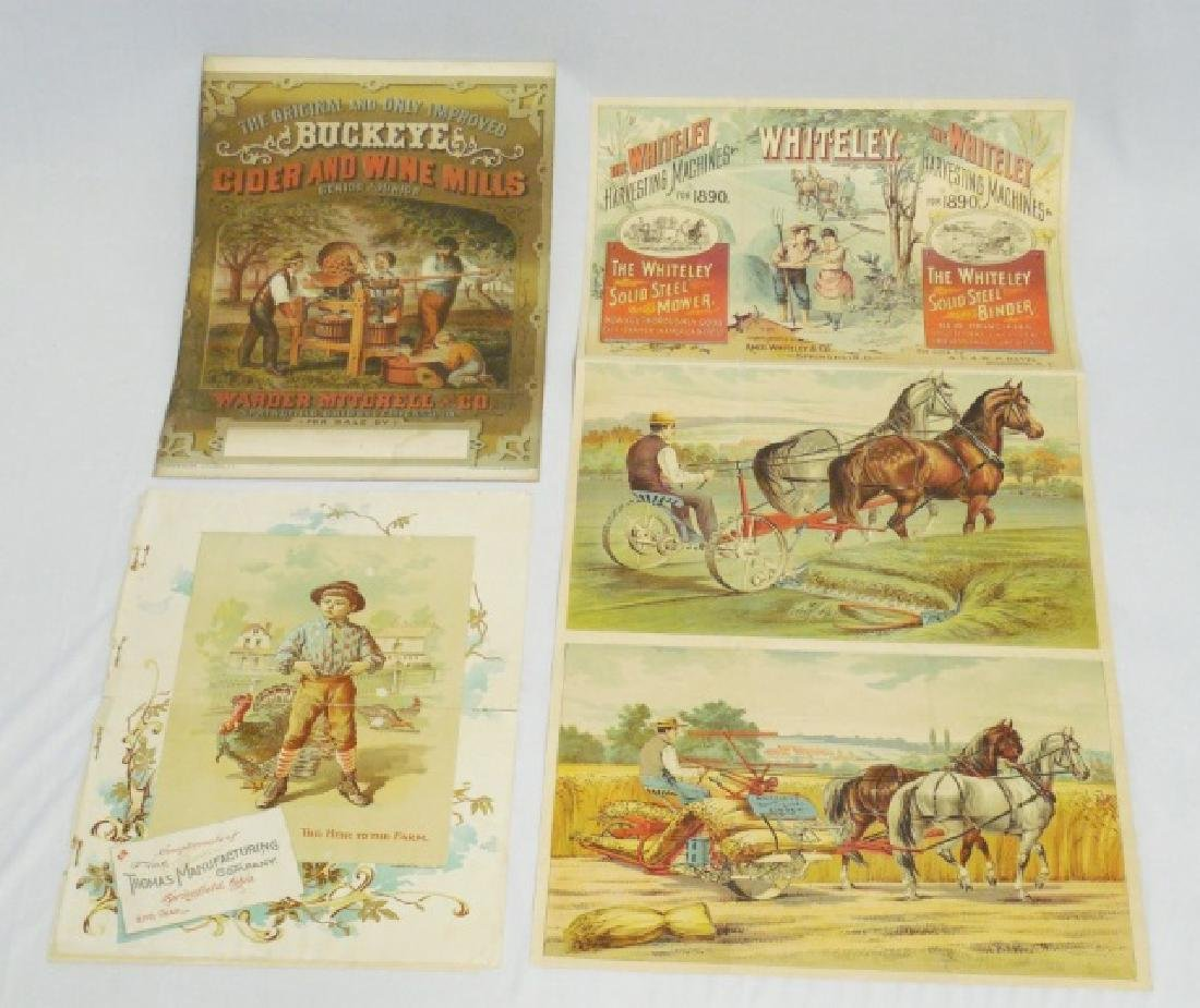 Lot of 3 Paper Literature/Advertising Items