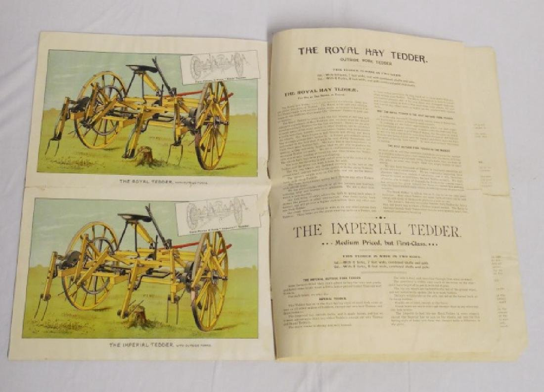 Lot of 3 Paper Literature/Advertising Items - 6