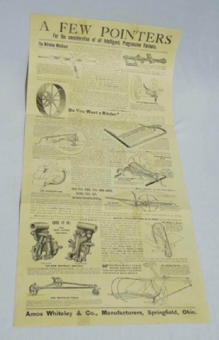Lot of 3 Paper Literature/Advertising Items - 8