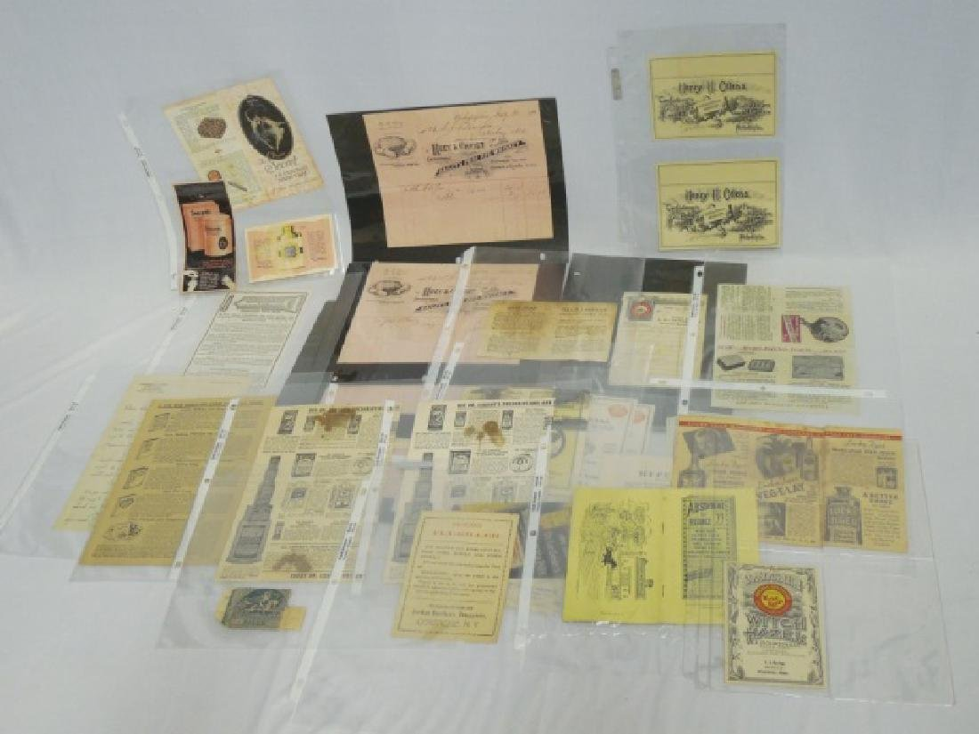 Lot of Assorted Paper Goods