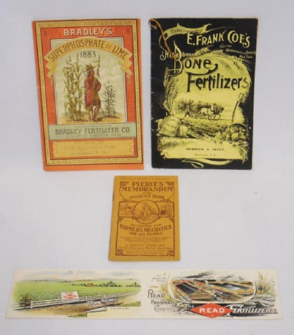 Lot of Advertising Paper Booklets/Label