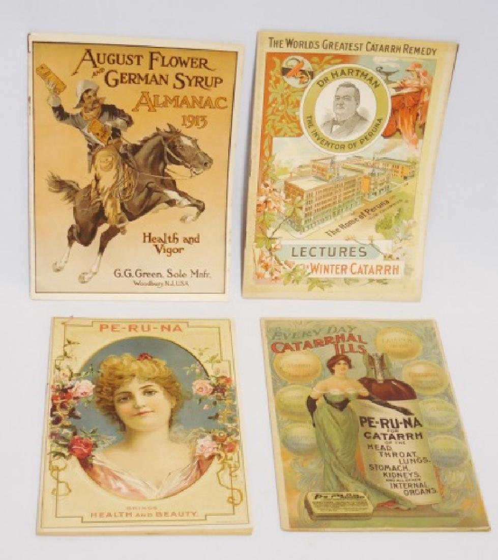 Lot of 4 Assorted Medicinal Booklets
