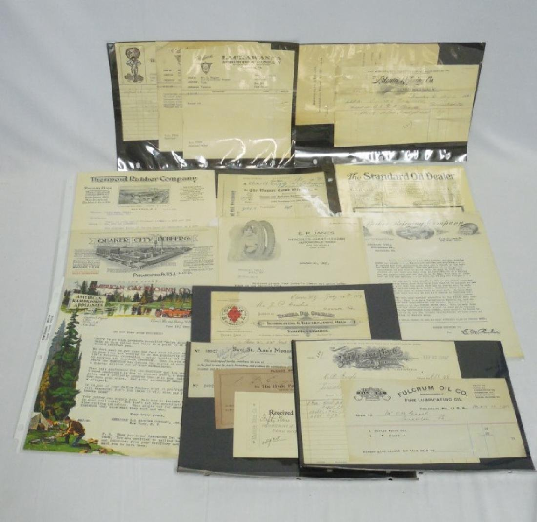 Lot of Approx. 15 Pieces of Assorted Ephemera